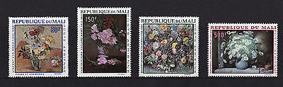 Mali - 1968 Flower Paintings - U/M - SG 164-7