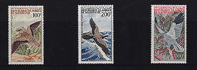 Mauritania - 1964 Bird Airmails - Mtd Mint - SG 185-87