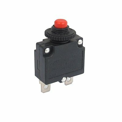 sourcingmap® AC 125/250V 10A Air Compressor Breaker Overload Push Button Switch