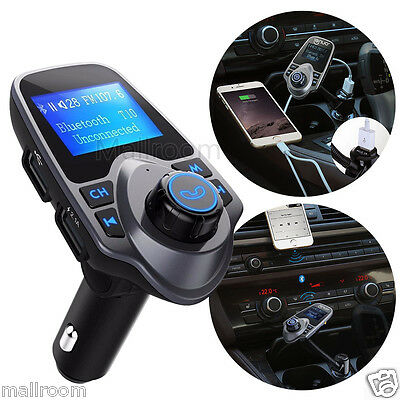 Auto FM Transmitter Bluetooth Car Kit MP3 USB Lade Handsfree for Samsung S6 S7