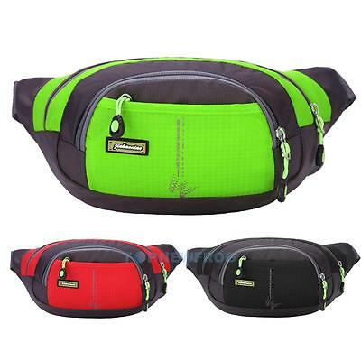 Man Shoulder Waist Bag Sport Soft Canvas Messenger Bags Casual Outdoor Travel