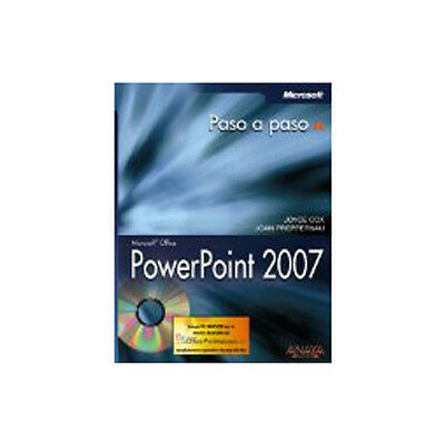 Manual impreso + CD Microsoft Office PowerPoint 2007. Paso a paso