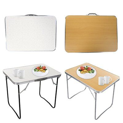 Portable Folding Aluminum Table In/Outdoor Picnic Party Dining Camping Desk