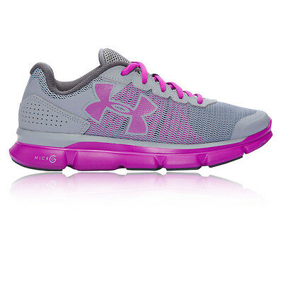 Under Armour Micro G Speed Swift Mujer Gris Running Deporte Zapatos Zapatillas