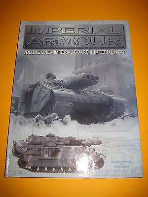 Warhammer 40k - Forge World - Imperial Armour Volume One - Hardcover