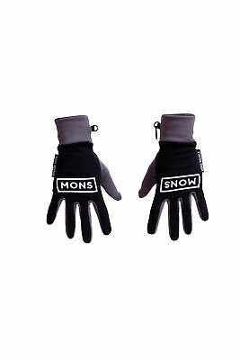 Mons Royale Elevation Gloves Mens Unisex Warm Winter Ski Snowboard New