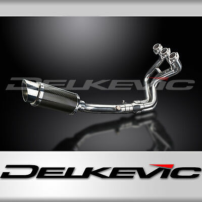 Full Exhaust System MT-09 (2013-2016) Carbon Fibre 200mm Round Silencer