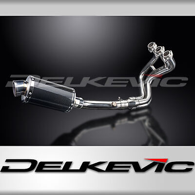 Full Exhaust System MT-09 (2013-2016) Carbon Fibre 225mm Oval Silencer