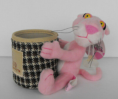 RARE PINK PANTHER plush 2004 awesome item pencilholder? nr2 must have L@@K