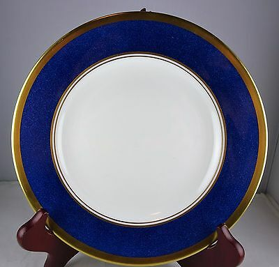 Coalport Bone China Athlone Blue Salad Plate - Blue with Gold Trim