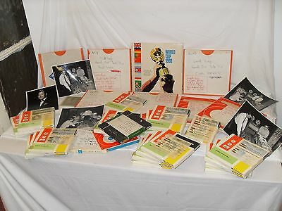 1966 World Cup Lp - ORIGINAL MASTER TAPES + tapes for Semis & Players Interviews