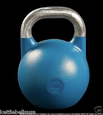 12 kg-26 lb Paradigm Pro Classic Competition Sport Kettlebell *FREE SHIPPING*