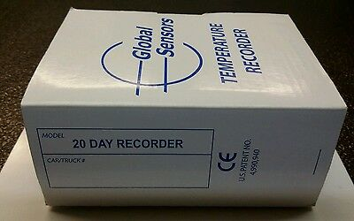 Deltatrak Global Sensors Temperature Recorder 20 day NEW 19 pcs (LOCSP2D3)