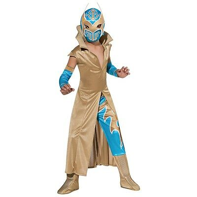 Sin Cara Costume Kids Lucha Libre WWE Wrestler Halloween Fancy Dress