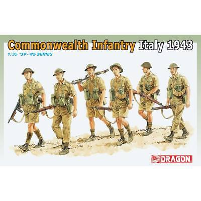 NEW Dragon Models 1/35 Commonwealth Infantry Italy 1943 (6) 6380