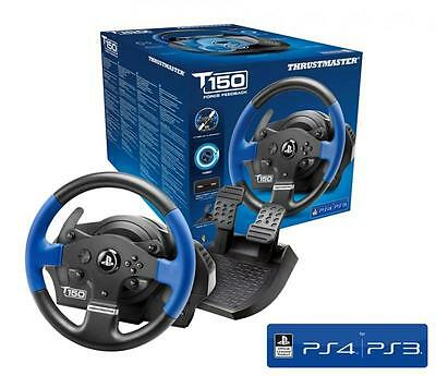 THRUSTMASTER T150 RS 1080° Force Feedback RACING WHEEL (PS4, PS3, PC, NEW)