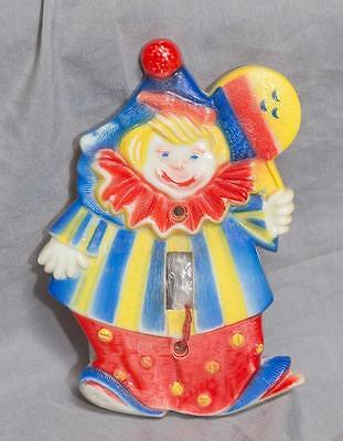 Vintage Clown Switch Plate Cover egm