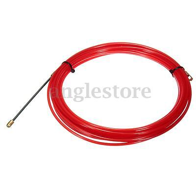 32 FT Nylon Fish Tape Electrical Cable Running Rod Duct Rodder Puller