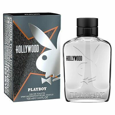 PLAYBOY HOLLYWOOD by Coty 3.4 oz EDT Cologne for Men New in Box