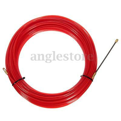 New 98FT 30M Nylon Fish Tape Electrical Cable Running Rod Duct Rodder Puller US