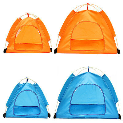New Outdoor Foldable Washable Camping Dog Cat Tent House Waterproof Sun Shelter