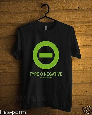 New peter steele type o negative Custom Black T-shirt for Man Size S-2XL