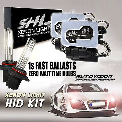 55W Canbus Xenon Hid Conversion Kit Error Free Double Beam H1 H4 H7 6000K 9006