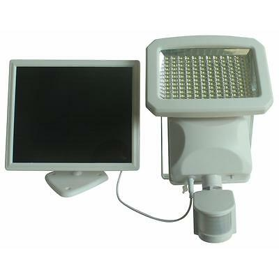 1500 Lumens Outdoor 144-LED Solar Powered Motion Activated Security Light White