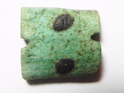 Zurqieh -Af768- Ancient Egypt , Faience Eye Of Horus Amulet. 600 - 300 B.c