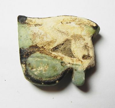 Zurqieh -Af773- Ancient Egypt , Faience Eye Of Horus Amulet. 600 - 300 B.c