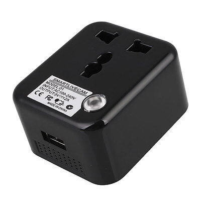 Pro Wireless WiFi Live Camera Hidden Plug Charger For Andorid&IOS Devices Tools