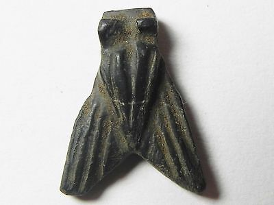 ZURQIEH - AF809- ANCIENT EGYPT , 18th DYNASTY LARGE STONE FLY AMULET. 1400 B.C