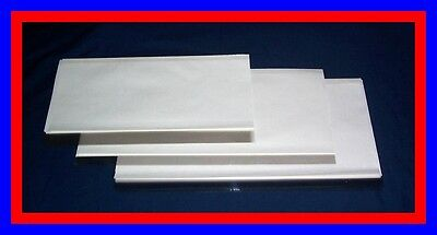 15 pack Brodart Just-a-Fold III Archival Book Jacket Covers - Med Popular Pack