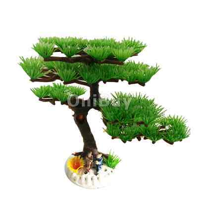 Aquarium plastique artificielle Pine Plante Arbre Fish Tank