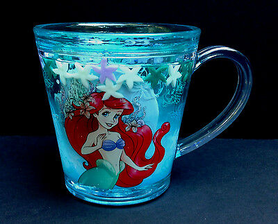DISNEY Store MEAL TIME MAGIC Collection FUNFILL Cup 2016 ARIEL 6 oz NWT
