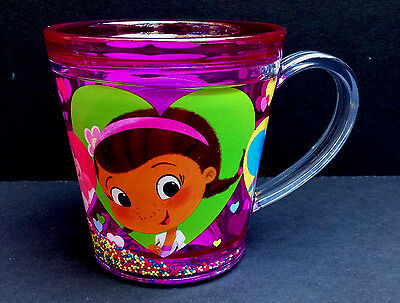 DISNEY Store MEAL TIME MAGIC Collection FUNFILL Cup 2016 DOC McSTUFFINS 6 oz NWT
