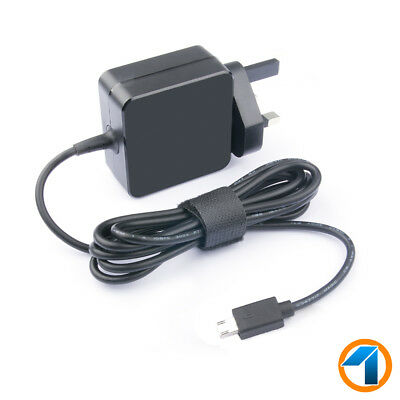 "UK Charger 19V 1.75A AC Adapter For ASUS EeeBook X205T X205TA 11.6"" Power Supply"