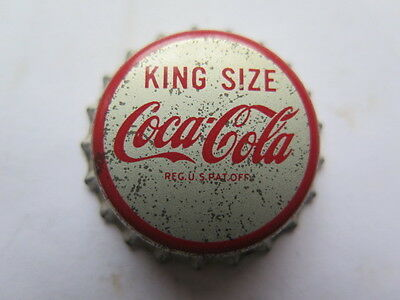 Crown Seal Bottle Cap Top Coca Cola King Size Alliance Ohio Usa Excellent Unused