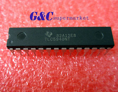1/2/5/10/20/50Pc Ic Led Driver Pwm Control 28-Dip Tlc5940 Good Quality Tlc5940Nt