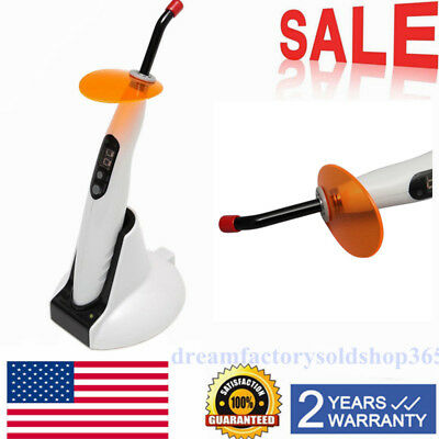 NEW Woodpecker Style Dental Wireless cordless LED Curing Light Lamp LED-B 1400mw