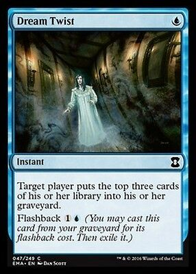 FOIL Distorsione Onirica - Dream Twist MTG MAGIC EMA Eternal Masters English