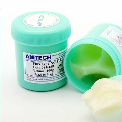 100g AMTECH NC-559-ASM Solder Paste Flux Cream SMT PCB IC Soldering Lead Free