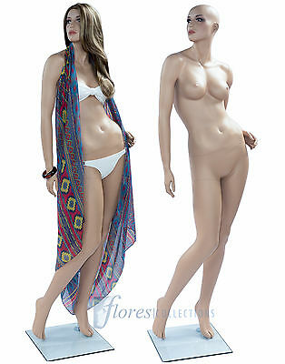 New Female Mannequins/Dummy full body shop display skin tone KATE