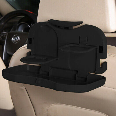 Folding Table Car Back Seat Storage Tidy Organiser Drink Food Holder Tray Travel