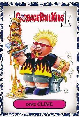 DIVE CLIVE #2A 2016 Topps Garbage Pail Kids Prime Slime Trashy BRUISED GUY FIERI