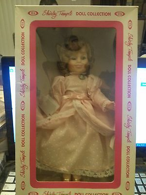 "Beautiful 12"" Ideal Shirley Temple  Doll Collection Original box Pink Dres 1982"
