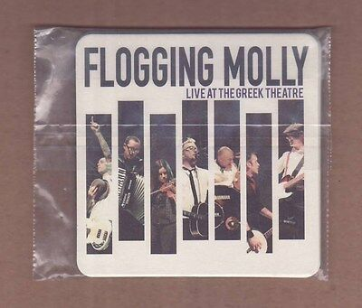 FLOGGING MOLLY - Live At The Greek Theatre Coaster Set (4) / PROMO