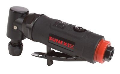 "Sunex HD 1/4"" Mini Angle Air Die Grinder Composite .25 HP Pneumatic Tools SX5203"