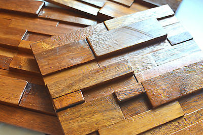 Wall Tiles, Decorative Wall Panels, Wall Covering, Wood Mosaic Tiles, Panelling