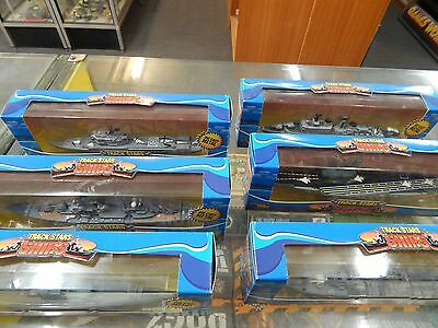 Diecast Ships by Track Stars - 6 boxed ships